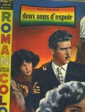 ROMAN FILM COLOR - 1ere ANNEE - N°1 - Couverture - Format classique