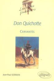 Cervantes Don Quichotte - Couverture - Format classique
