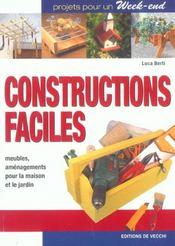 Constructions Faciles - Intérieur - Format classique
