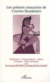 Les poèmes mascarins de Charles Baudelaire - Couverture - Format classique