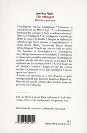 L'Air Intelligent ; Theorie Et Pratique - 4ème de couverture - Format classique