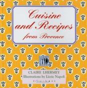 Cuisine & Recipes From Provence - Couverture - Format classique