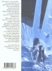 Terra Mater Guerriers Du Silence 2 - 4ème de couverture - Format classique