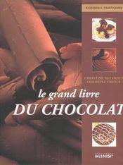 Le grand livre du chocolat - Intérieur - Format classique
