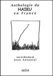 Anthologie du haiku en France - Couverture - Format classique