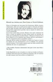 Epreuve D'Amour - 4ème de couverture - Format classique