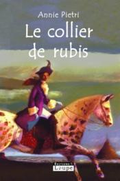 Le collier de rubis - Couverture - Format classique