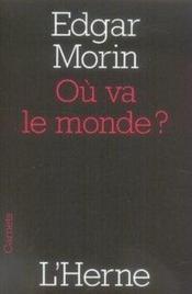 Ou Va Le Monde ? - Couverture - Format classique
