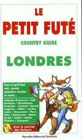 Londres 1997, Le Petit Fute (Edition 4) - Intérieur - Format classique