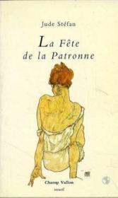 Fete De La Patronne (La) - Couverture - Format classique