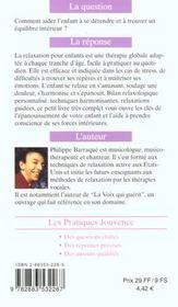 Relaxation Et Detente Des Enfants N.58 - 4ème de couverture - Format classique