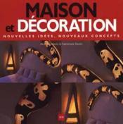 Maison et decoration - Couverture - Format classique
