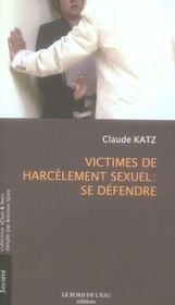 Victimes De Harcelement Sexuel:se Defendre - Intérieur - Format classique