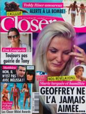 Closer N°327 du 17/09/2011 - Couverture - Format classique