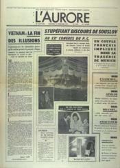 Aurore (L') N°8799 du 15/12/1972 - Couverture - Format classique