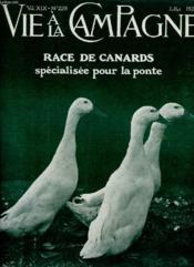 La Vie A La Campagne N° 229 - Couverture - Format classique