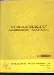 Sine-Square Audio Generator - Model Ig-18 - Couverture - Format classique