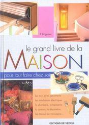 Le Grand Livre De La Maison - Intérieur - Format classique