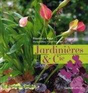 Jardinieres Et Cie - Couverture - Format classique