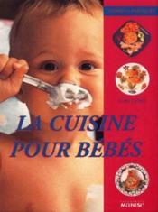 Cuisine Pour Bebes - Couverture - Format classique