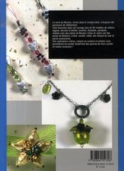 Bijoux En Perles De Murano - 4ème de couverture - Format classique