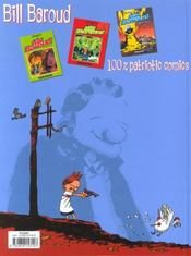 Bill baroud t.4 ; la jeunesse de bill baroud - 4ème de couverture - Format classique