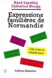 Expressions familieres de normandie - Couverture - Format classique