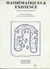 Mathématiques et existence - Couverture - Format classique