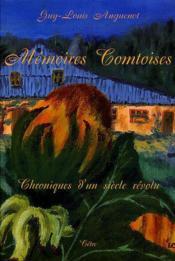 Memoires Comtoises - Couverture - Format classique