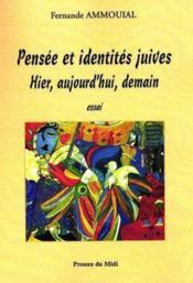 Pensee Et Identites Juives - Couverture - Format classique