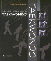 Manuel Technique Du Taekwondon - Intérieur - Format classique