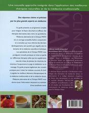 Médecine alternative - 4ème de couverture - Format classique