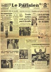 Parisien Libere Edition De 5 Heures (Le) N°1252 du 01/06/1946 - Couverture - Format classique