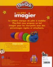 Play Doh ; Mon Grand Imagier - 4ème de couverture - Format classique