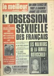 Meilleur Journal (Le) N°130 du 16/12/1972 - Couverture - Format classique