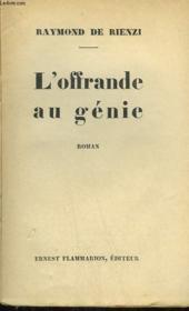 L'Offrande Au Genie. - Couverture - Format classique