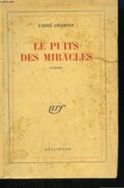 Le Puits Des Miracles. - Couverture - Format classique
