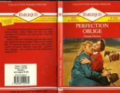 Perfection Oblige - The Ideal Man - Couverture - Format classique