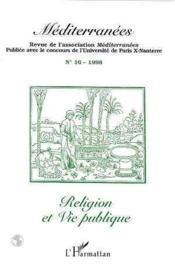 Religion Et Vie Publique - Couverture - Format classique