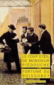 Le Coup D'Oeil De Monsieur Piedouche - Couverture - Format classique