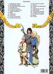 Thorgal T.15 ; Le Maître Des Montagnes - 4ème de couverture - Format classique
