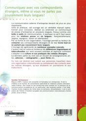 Comment... faire un communiqué de presse d'entreprise en 6 langues - 4ème de couverture - Format classique