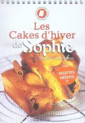 Les cakes d'hiver de Sophie - Intérieur - Format classique