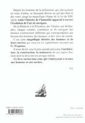 Histoire Des Navires - 4ème de couverture - Format classique