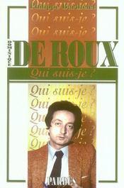 Dominique de Roux - Intérieur - Format classique