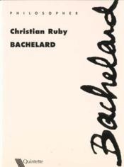 Bachelard - Couverture - Format classique