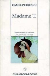 Madame T. - Couverture - Format classique