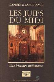 Les Juifs Du Midi - Couverture - Format classique