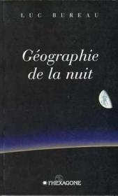 Geographie De La Nuit - Couverture - Format classique
