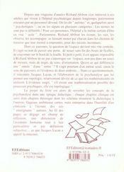 De L'Autisme Topologie Du Transfert - 4ème de couverture - Format classique